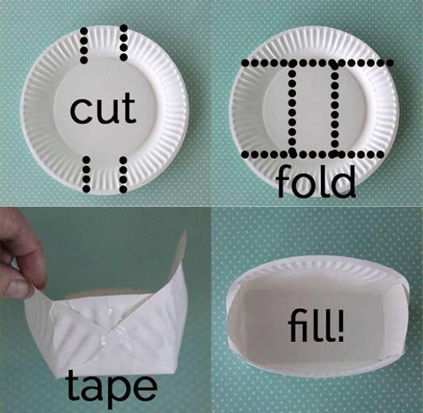紙皿作り方