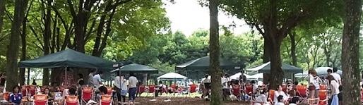 水元公園バーベキュー広場@東京都葛飾区