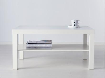 LACK コーヒーテーブル, ホワイト