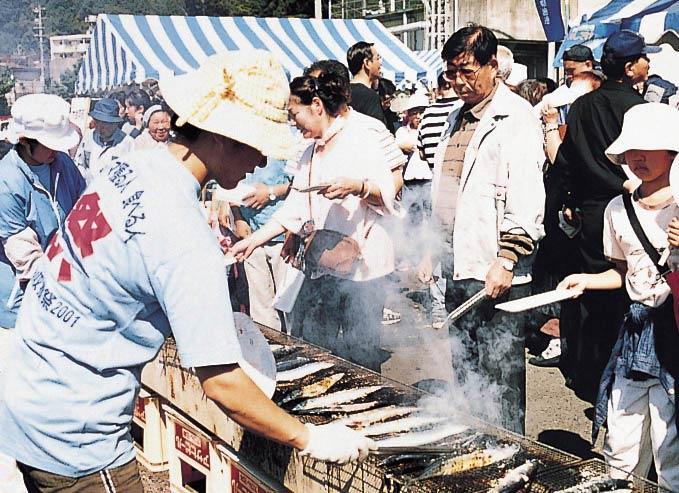 おながわ秋刀魚収獲祭