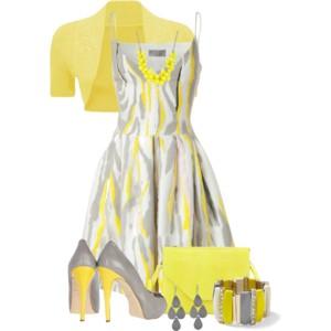 結婚式 yellow