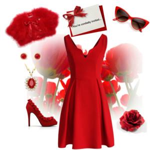 結婚式 red 2