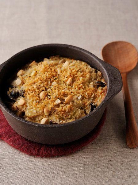 酵素玄米と里芋の酒粕豆乳ドリア