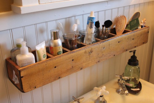洗面器 収納 DIY
