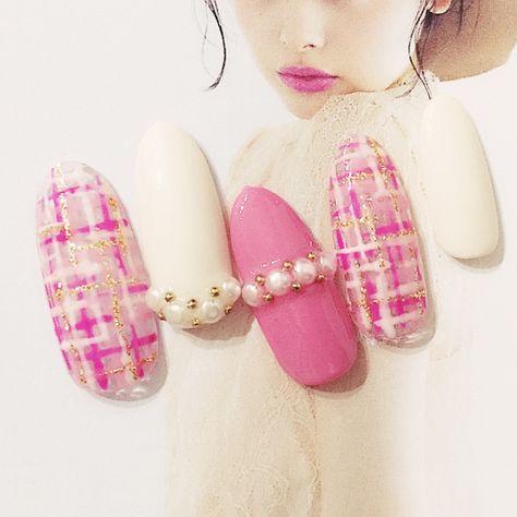 ピンクネイル6
