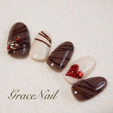 チョコレートネイル5