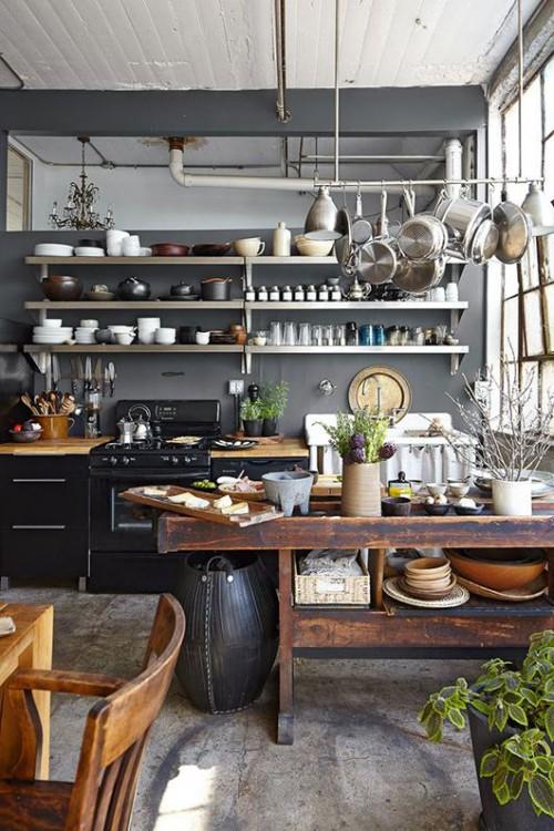 キッチン 見せる収納2