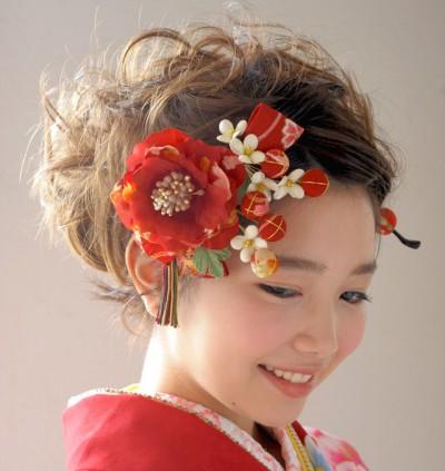 着物髪型 ロング6