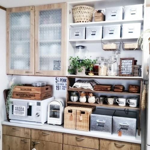 キッチン  隠す収納2