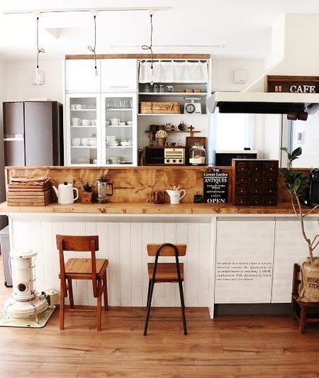 キッチン 統一感
