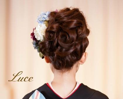 着物髪型 ロング2