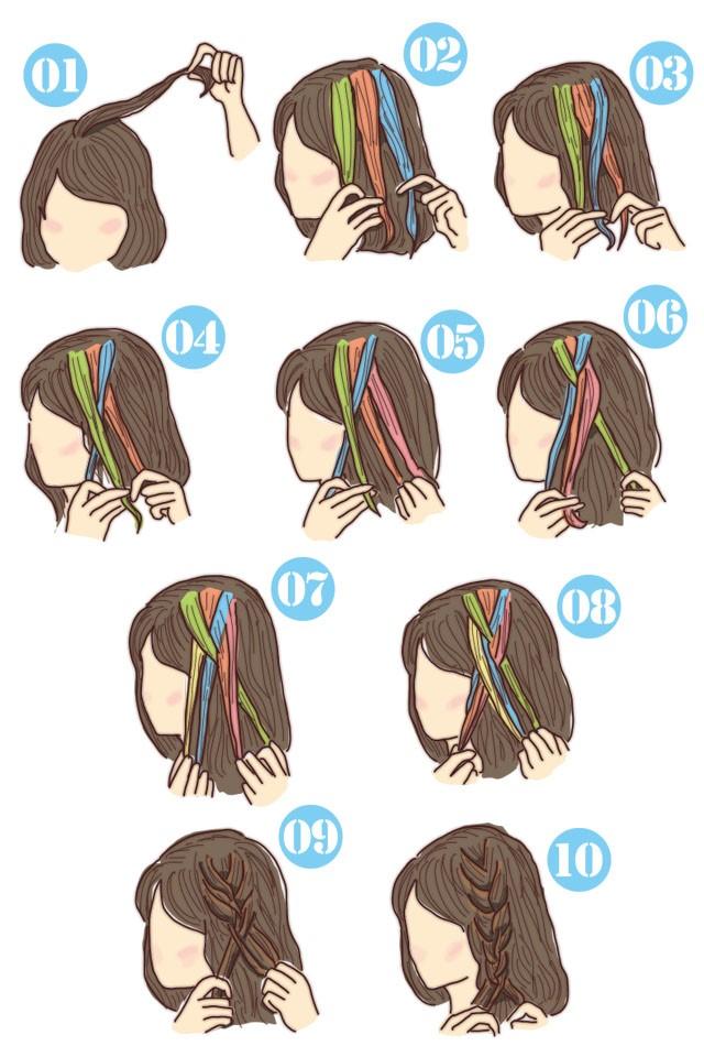 簡単可愛い女の子のヘアスタイル子供