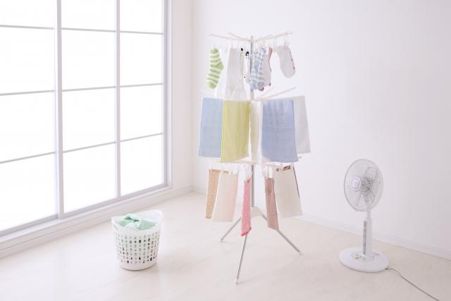 乾燥機・扇風機を使う(早く乾かす)
