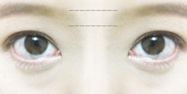 眉毛描き方 完成図