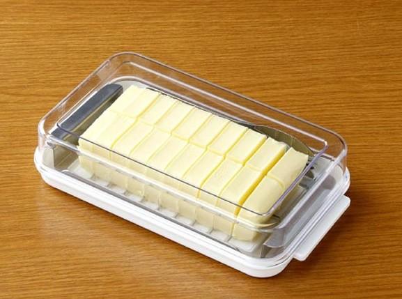 ステンレスバターカッター&ケース バターナイフ付 3