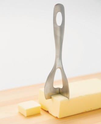 四角く切れるバターナイフ1