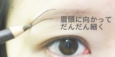 眉毛描き方3