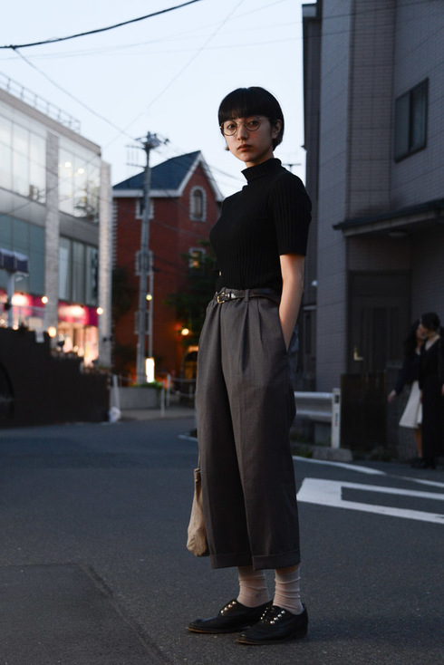【春夏】ガウチョパンツコーデ3