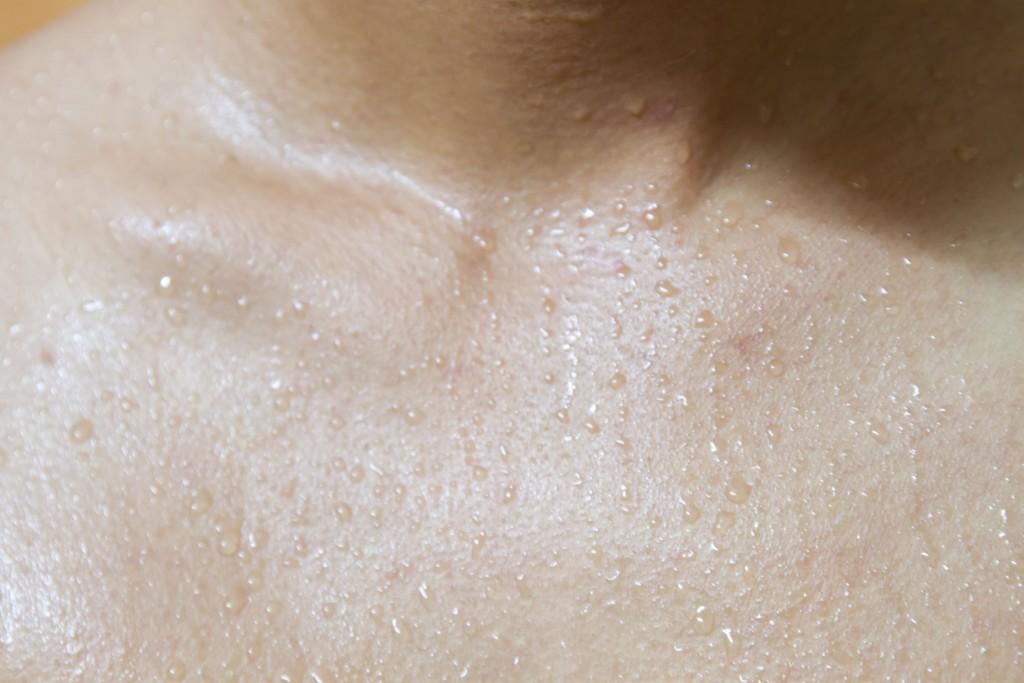汗 sweat