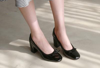 [DLM]Color ribbon shoes