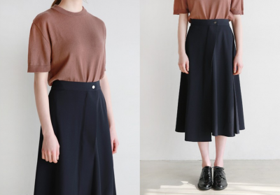 [DLM]Classic plain long skirt
