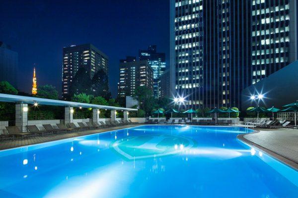 ANAインターコンチネンタルホテル東京 ガーデンプール