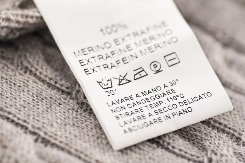 ニット 洗濯表示