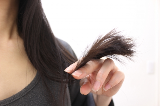 髪がパサつく・ツヤがなくなる